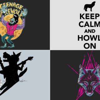 Trend Wolf-T-Shirt: Komm' mir nicht mit Eulen!