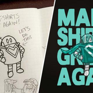 Vom Comic zum Shirt in 4 Schritten