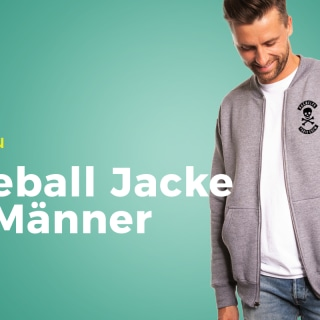 Neues Produkt: Baseball Jacke für Männer