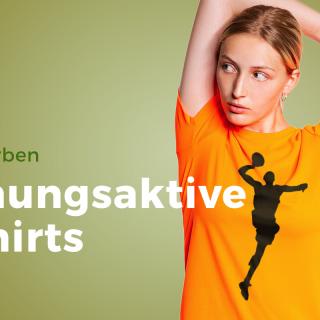 Neue Farben bei den atmungsaktiven T-Shirts