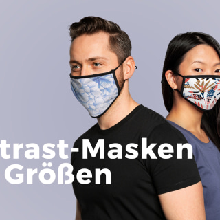 Neues Produkt: Kontrast-Masken für Teenager und Erwachsene