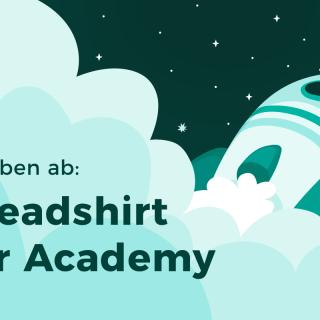 Die Spreadshirt Star Academy hebt ab
