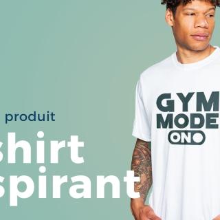Nouveau et aéré – T-shirt respirant