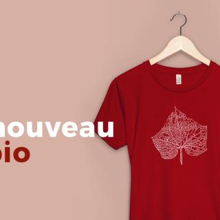 Nouveau modèle pour le t-shirt bio Femme