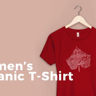 Product Change: Women's Organic T-Shirt