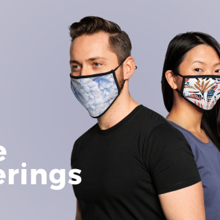 All About the Contrast Face Mask