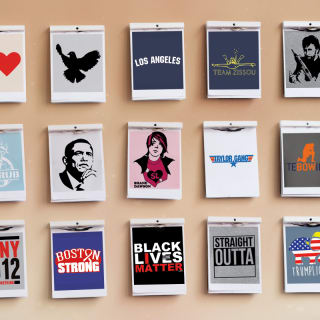Icons, Politics and Gangstas: 15 years of T-Shirt Designs
