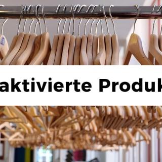 März 2020: Deaktivierte Produkte