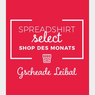 Spreadshirt Select Shop des Monats April