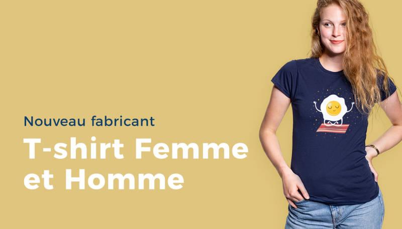 Nouveau fabricant – T-shirt Femme et Homme