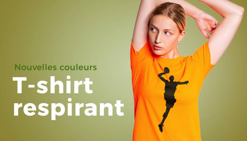 Nouvelles couleurs – T-shirt respirant