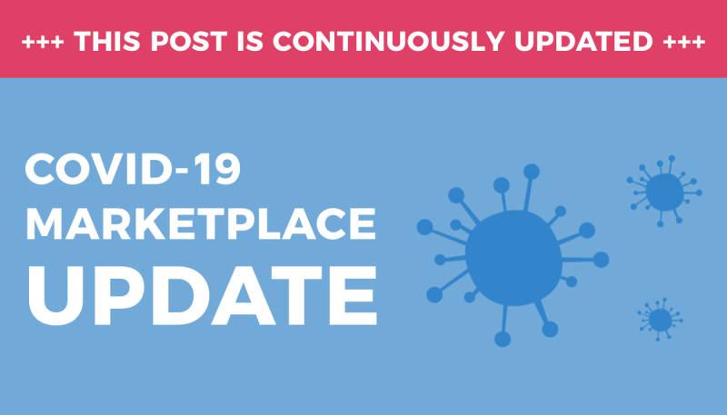 A Marketplace Update Regarding COVID-19