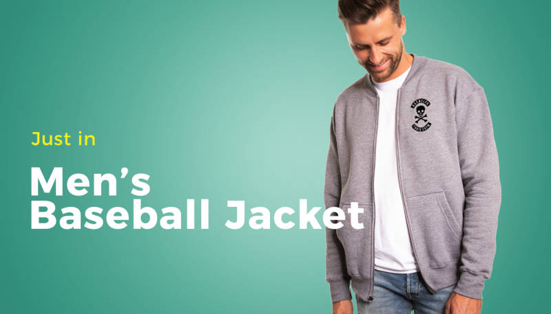 New Product: Men's Baseball Jacket