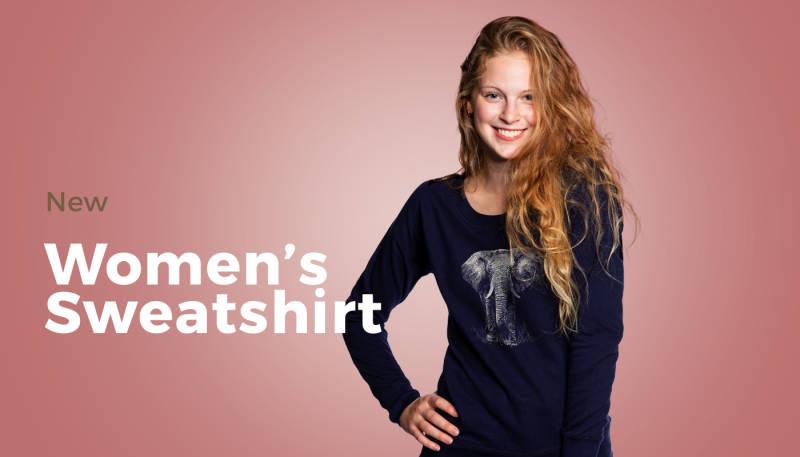 Just in: Women's Sweatshirt