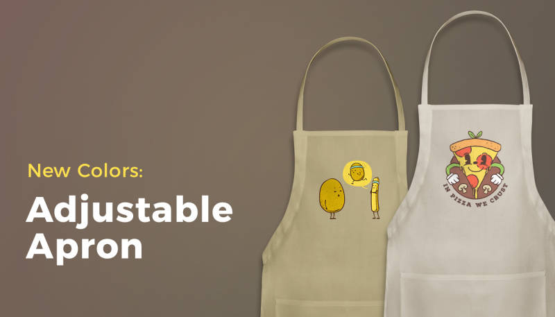 New Colors: Adjustable Apron