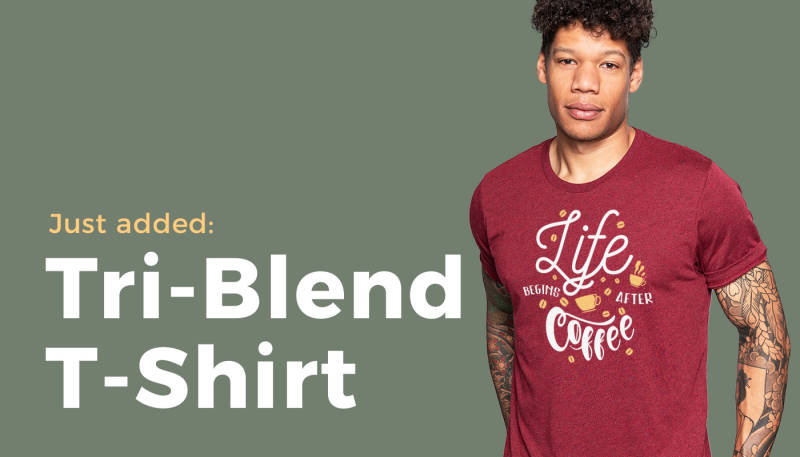 Product News: Replacement Unisex Tri-Blend T-Shirt