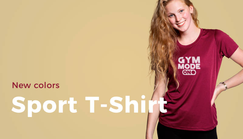 New Colors: Sport T-Shirt