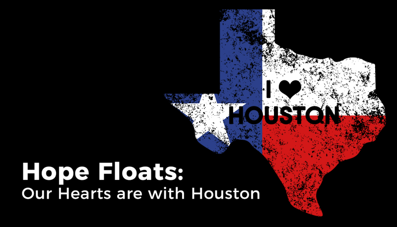 Hearts with Houston: Support the Hurricane Harvey Relief Fund