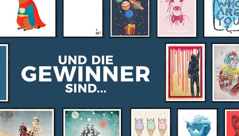 Design-Wettbewerb Poster: Die Gewinner