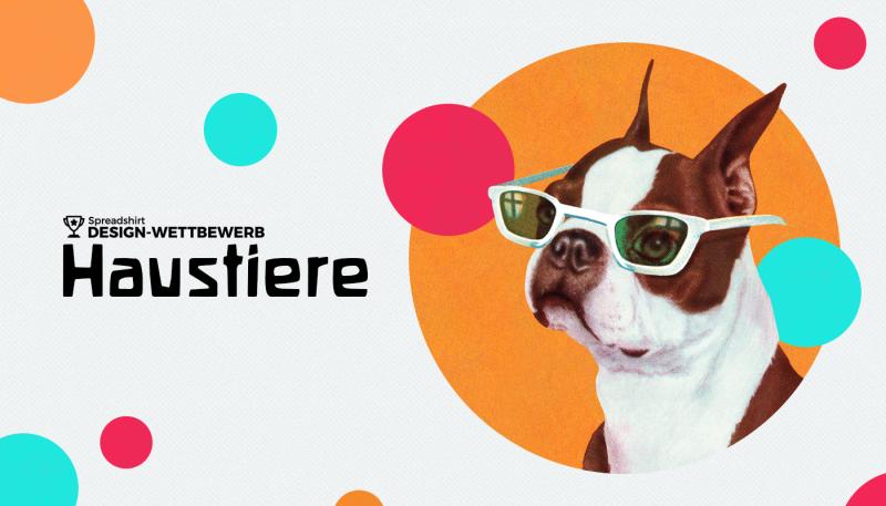 Design-Wettbewerb im August: Haustiere