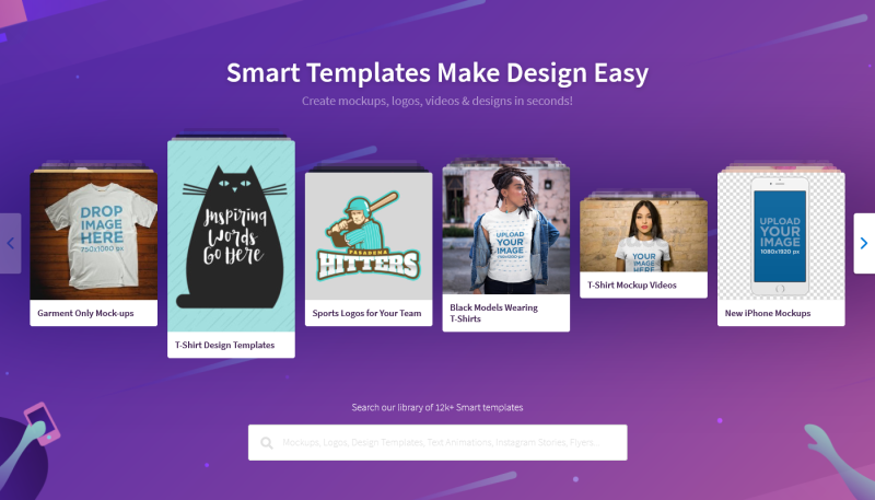 Unlimited Access to Designs and Mockups with Placeit