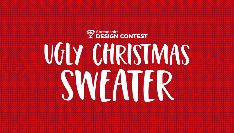 October's Design Contest: Ugly Christmas Sweater