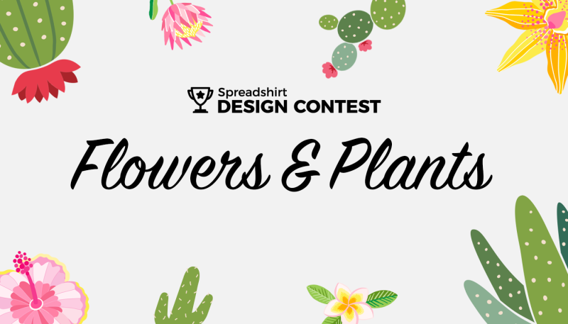 Design Contest for March: Flowers & Plants