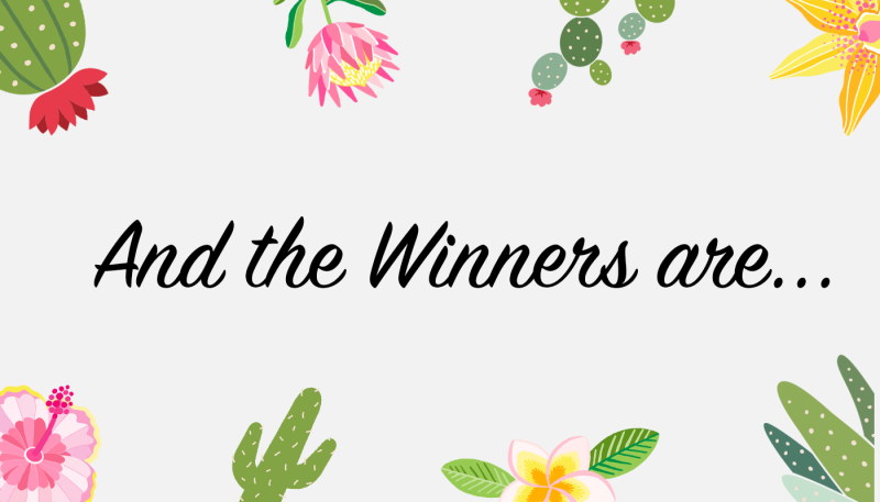 Flowers & Plants Design Contest: The Winners