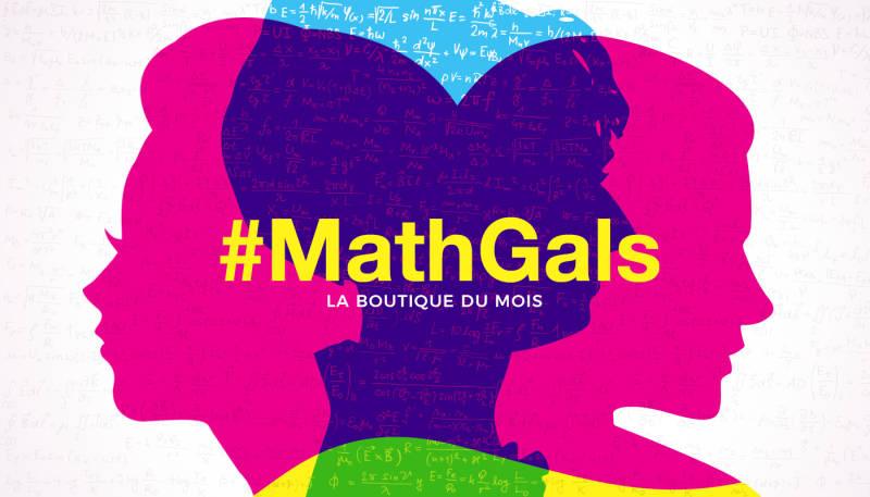 La boutique du mois – #MathGals
