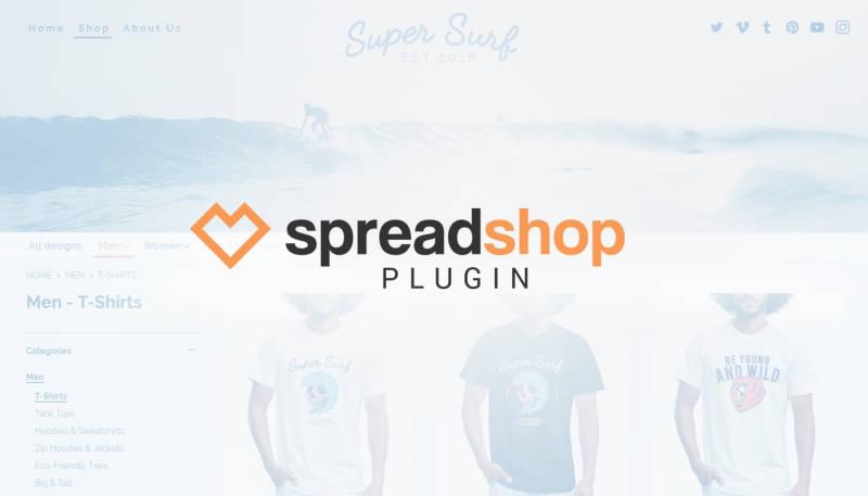 Einbetten leicht gemacht: Spreadshop Plugin für WordPress