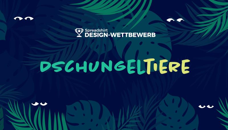 Design-Wettbewerb: Dschungeltiere