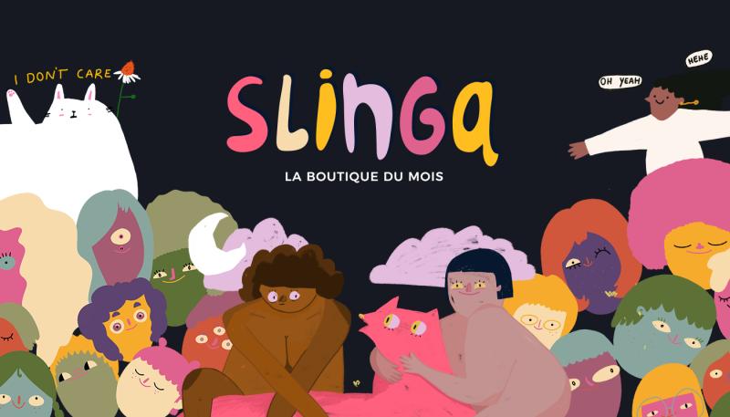 La boutique du mois : Slinga Illustration