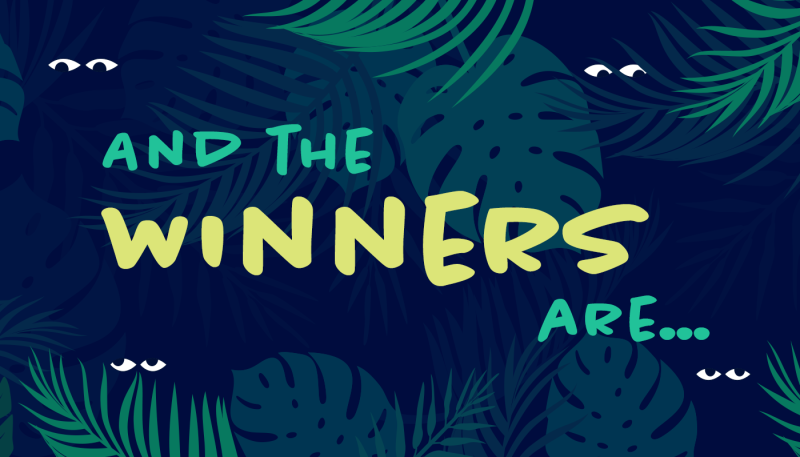 Winners of the Jungle Animals Design Contest