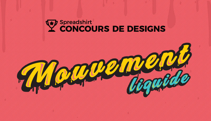 Concours de designs «Mouvement liquide»