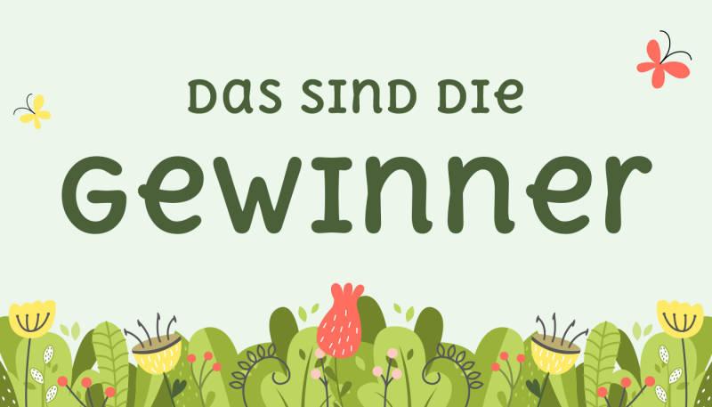 """Die Gewinner des Design-Wettbewerbs """"Grüner Planet"""" sind…"""