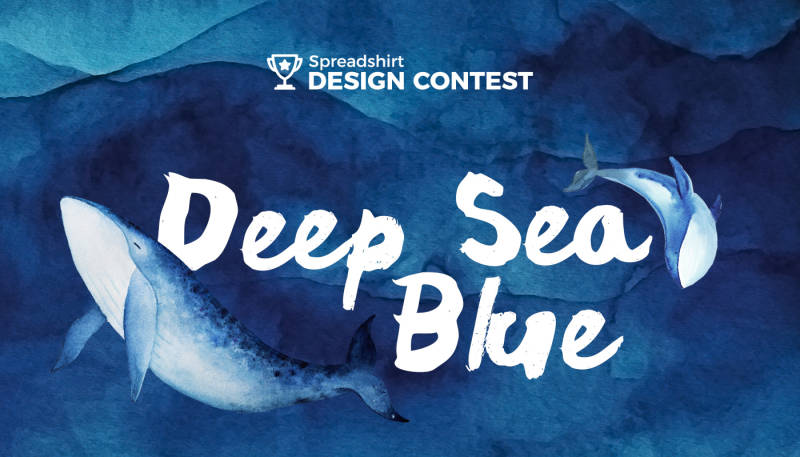 "Dive in to our ""Deep Sea Blue"" Design Contest"