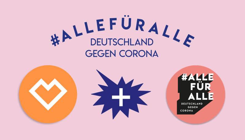 """""""Deutschland gegen Corona"""" Spreadshop unterstützt mit einer Spendenkollektion"""
