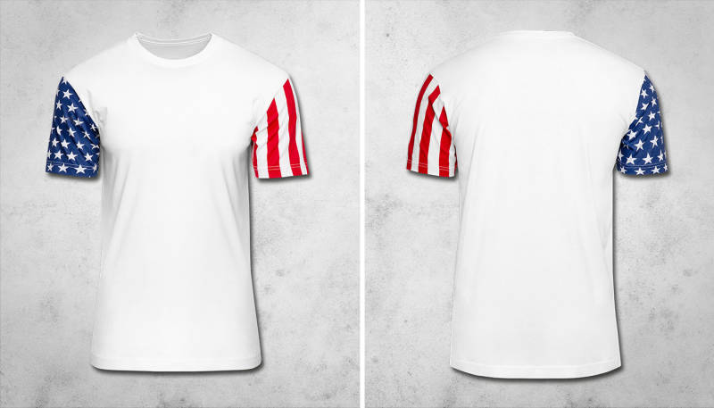 NEW: Stars & Stripes T-Shirt (North America & Oceania)
