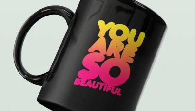 Nouveau procédé d'impression pour les mugs noirs