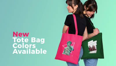 New Tote Bag Colors Available