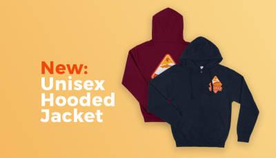 New: Unisex Hooded Jacket