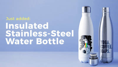 New Product: Stainless-Steel Water Bottle