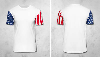 NEW: Stars & Stripes T-Shirt (North America & Oceania)