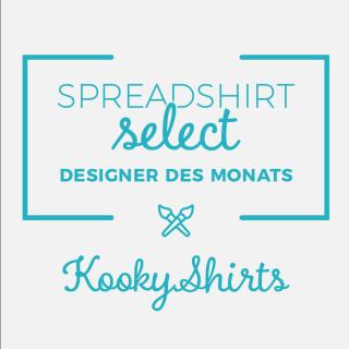 Spreadshirt Select Designer des Monats: KookyShirts