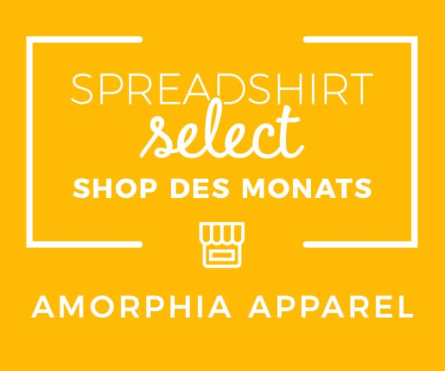Spreadshirt Select Shop des Monats: Amorphia Apparel
