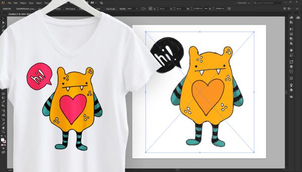 Vectoriser une image avec Illustrator