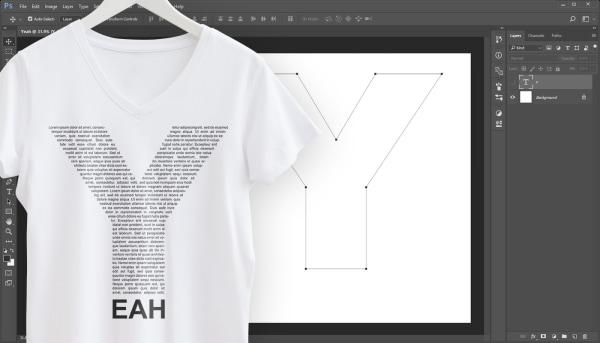 3 effets de texte avec Photoshop