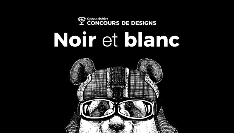 Concours de designs – Noir et blanc