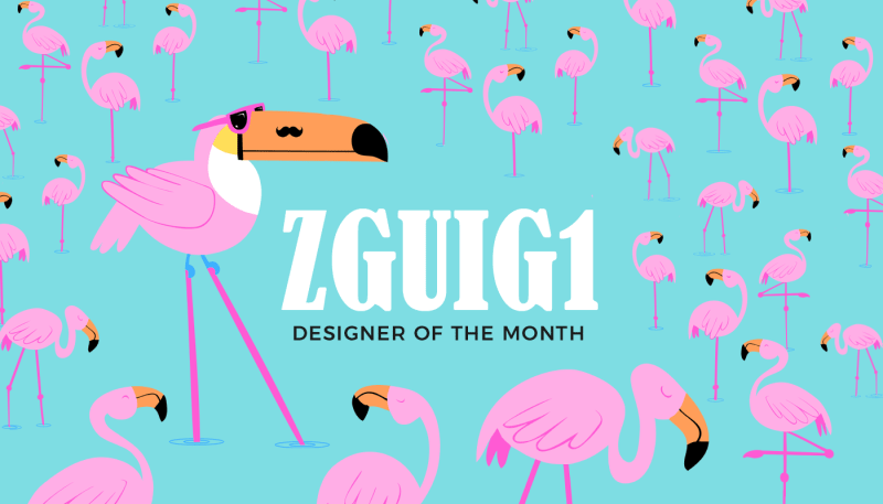 Designer of the month: Zguig1