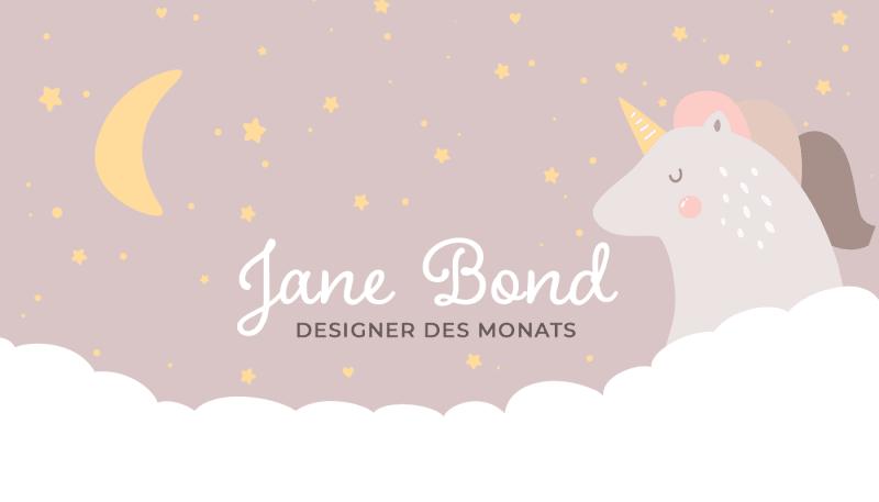 Designer des Monats: Jane Bond